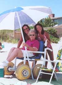 Handicap Accessible Beach